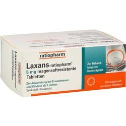 LAXANS RATIOPHARM 5MG
